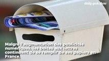 La publicité dans nos boîtes aux lettres représente 1/4 du papier consommé en France