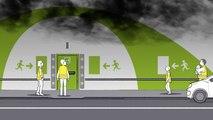 Tunnel mode d'emploi : en cas d'incendie