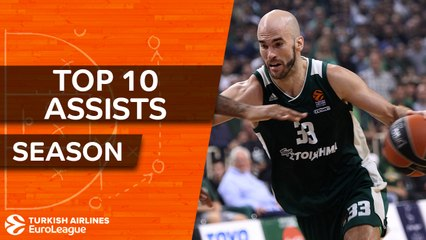 2017-18 Turkish Airlines EuroLeague: Top 10 Assists!