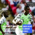 Super Eagles Striker, Odion Ighalo tenders apology to Nigerians for missing chances