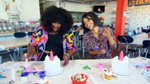 """""""Nailed It!"""" Host Nicole Byer Decorates a Cake With E!"""