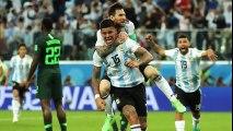 El Show de MARADONA en el Nigeria vs Argentina (Termina MAL)