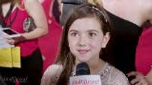 Abby Ryder Fortson Talks Paul Rudd as Her Onscreen Dad | 'Ant-Man and the Wasp' Premiere
