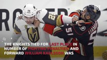 Golden Knights, NHL on best behavior