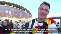 Mondial: stupéfaction des fans après la défaite de l'Allemagne