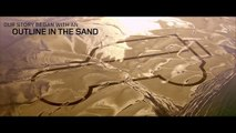 بالفيديو لاند روفر ترسم سيارة ديفندر عملاقة على ثلوج الألب
