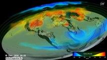 هكذا ينتشر ثاني أكسيد الكربون في غلافنا الجوي