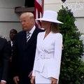 فيديو الكاميرا تلتقط تصرف ميلانيا ترامب مع زوجها.. ما سر غضبها الواضح؟