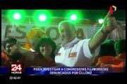 Gobernador de Ica denunció a tres congresistas fujimoristas por presuntos actos de corrupción