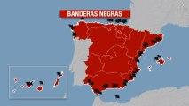 El informe Banderas Negras sobre las peores playas de España.