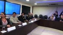 [#ENVIVO] Rueda de prensa en la Comandancia de Policía de Ecuador por el hallazgo de cadáveres en Colombia que podrían corresponder al equipo de prensa de EL CO