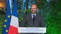 Chine : discours du Premier ministre, Édouard Philippe, devant la communauté française en Chine