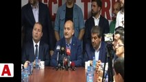 İçişleri Bakanı Soylu: �Valilere talimat verdim. CHP İl Başkanlarını �