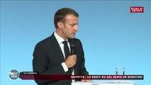 Emmanuel Macron soutient la proposition de limitation du droit du sol à Mayotte