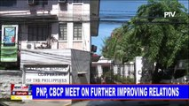 PNP, CBCP meet on further improving relations