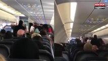 Etats-Unis : Hystérique, une femme perd ses nerfs en plein vol (Vidéo)