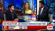 CNN Projects REP . JOE Crowley Defeated in NEW YORK. #BreakingNews #CNN #NEWYORK #News #FoxNews.