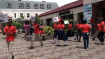 Still on the topic of healthy lifestyles, the Grenada Food & Nutrition Council held a flash mob today at the Esplanade Mall. Details in this Sorana Mitchell rep