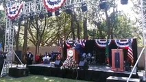 Celebrating the US independence in Lusaka. This followed an invitation extended to us by the US embassy in our country. We are one people and we will strength