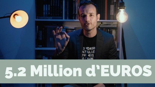 Un Braquage à 5 millions d'Euros ! - Fabien Olicard