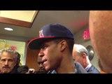 Rajon Rondo Talks After Celtics Lose to Nets