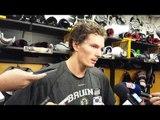 Loui Eriksson on Boston Bruins win over Florida Panthers - 11.07.2013