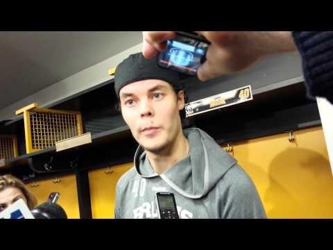 Tuuka Rask on Boston Bruins win over Panthers - 11.7.13