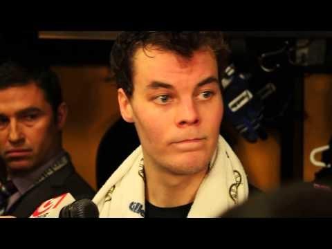 Tuukka Rask on the Boston Bruins Game 1 loss to the Detroit Red Wings