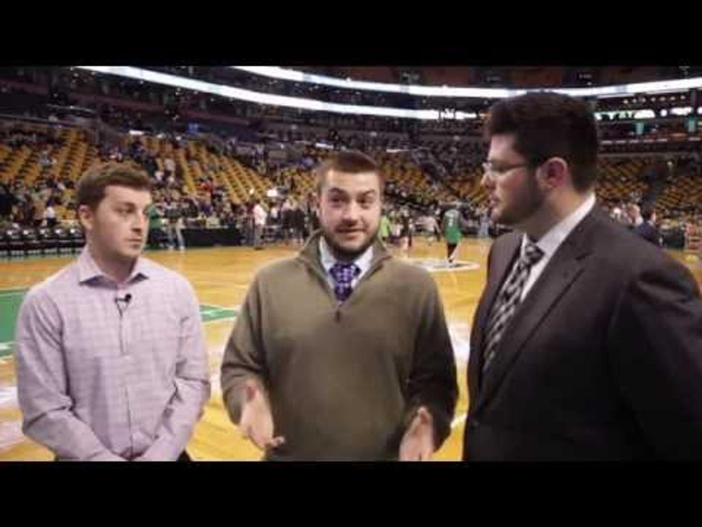 Boston Celtics trade Rajon Rondo Reaction from Garden -- Garden Report Special Edition