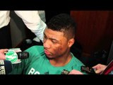 Marcus Smart on Getting Thrown Down by DeMarcus Cousins