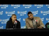Isaiah Thomas & Jared Sullinger on Getting Swept by the Cleveland Cavaliers