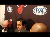 Erik Spoelstra on Justice Winslow's season with the Heat