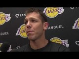 Luke Walton on Experienceing Celtics vs Lakers From Both Sides