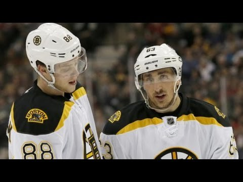 Boston Bruins: Brad Marchand and David Pastrnak | Red Wings and Flyers win