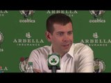 Brad Stevens on Limiting Paul George & the Bench Contributions in Win Over Pacers