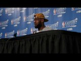 LeBron James on Cleveland Cavaliers dominant Game 4 win over Boston Celtics