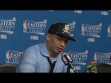 Ty Lue on NBA Finals Matchup with Golden State Warriors, Lebron Reaching 7th Straight Finals
