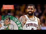 REACTIONS: Kyrie Irving - Isaiah Thomas Trade Breakdown w/ Michael Pina & Sam Vecenie