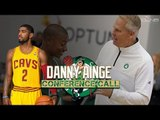 Kyrie Irving - Isaiah Thomas TRADE Conference Call w/ Celtics, DANNY AINGE