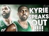 KYRIE IRVING Can't Wait to Make CELTICS Better  - Celtics Roundtable