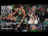 Milwaukee Bucks vs. Boston Celtics: 2017-18 NBA Season Preview   Powered by CLNS Media