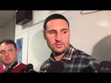 (full) KLAY THOMPSON on late foul for KYRIE IRVING