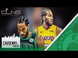 Is Kawhi Leonard to Celtics inevitable? + NBA Draft Recap - Causeway St Podcast