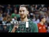"[News] Aaron Baynes Represented Celtics at NBA Awards | Gordon Hayward Posts Blog Titled ""Won't..."