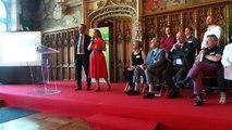 Discours des porteurs du 6ème projet lauréat du Budget Participatif