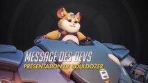 Overwatch - Message des développeurs pour Bouldozer