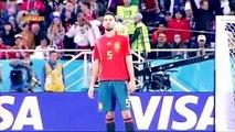 كيف أحرج المغرب لاعبي إسبانيا راموس انيستا بيكي بوسكيتس إيسكو مباراة المغرب و اسبانيا كأس العالم