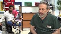 Suriyeli Maya protez tedavisi için İstanbul'a getirildi