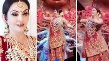 Nita Ambani Beautiful Performance At Akash Ambani & Shloka Mehta's Pre-Engagement Party