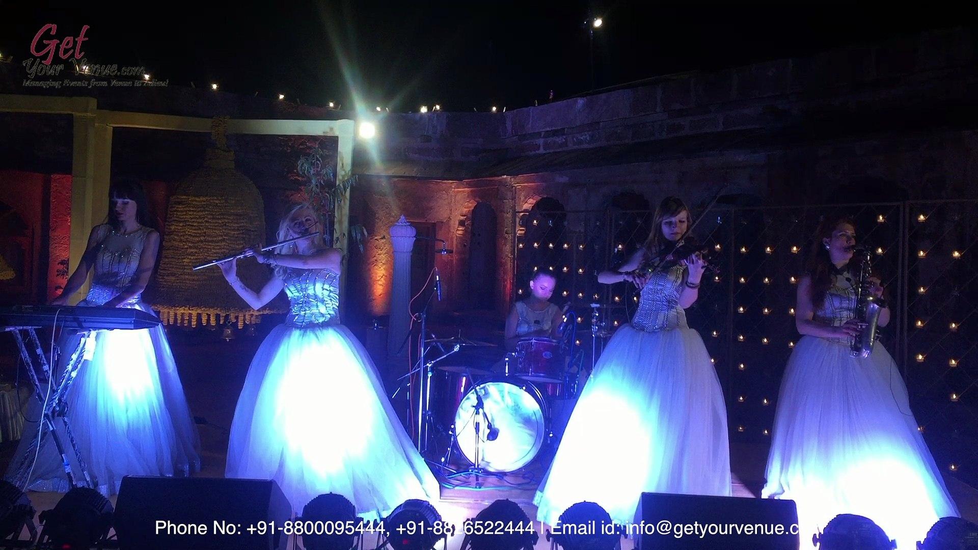 Symphony Orchestra - Wedding Entertainment by top wedding planner in Delhi | GetYourVenue